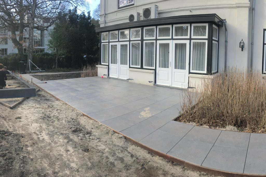 Tuinaanleg project bussum